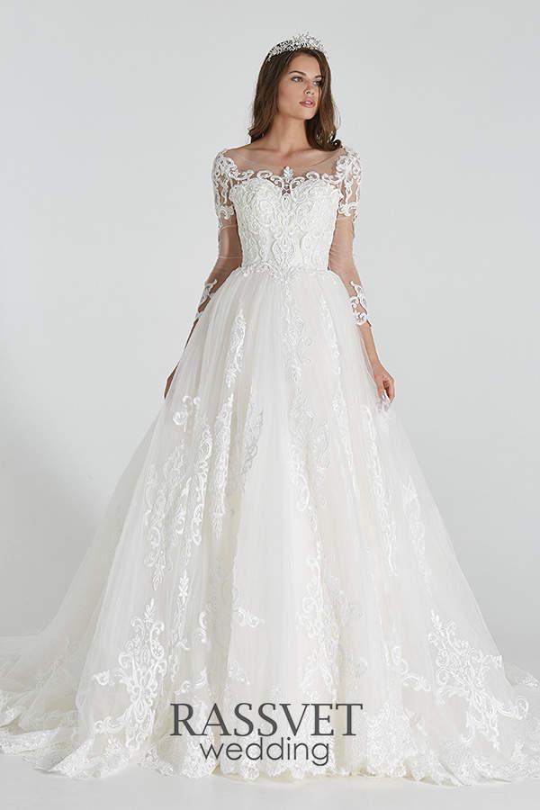 e046c614b086cb6 ✓ Скромные свадебные платья 40-42 размера купить он-лайн в интернет ...