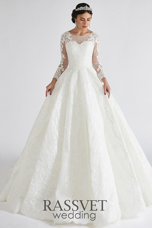 20c0b46eff1e8db Купить Свадебное платье Береслава по цене 15 000 руб. в интернет ...