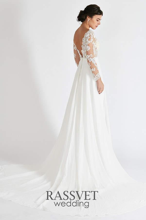 64ded0fd552 ✓ Греческие свадебные платья с длинным рукавом купить он-лайн в ...